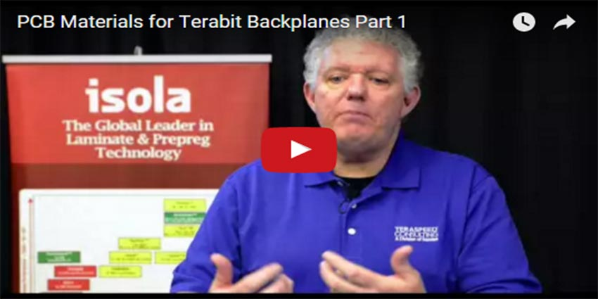 PCB Materials For Terabit Backplanes Isola