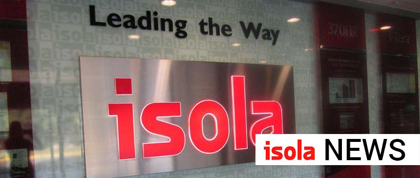 ISOLA ANNOUNCES SALE OF ITS EXISTING ARIZONA FACILITY, WITH