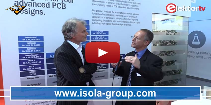 Video isola interviewed at productronica 2015 isola for Alexander isola