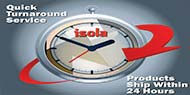 Isola Quickturn Manufacturing Capabilities