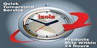 Isola Quickturn Manufacturing Capabilities
