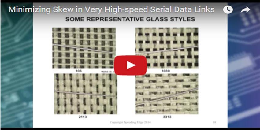 Minimizing Skew In Very High Speed Serial Data Links Isola