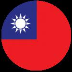 Taiwan Flag Circle